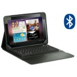 Case Bluetooth Keyboard voor Samsung P7500 Galaxy Tab 10.1 Black