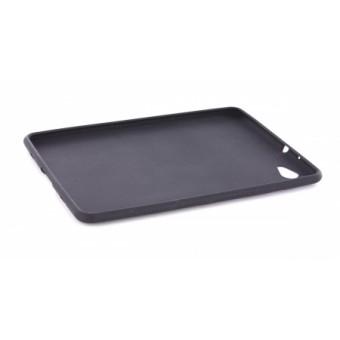 Mobiparts Siliconen Case Samsung P6800 Galaxy Tab 7.7 Black