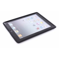 Mobiparts Siliconen Case Apple iPad 3 Black