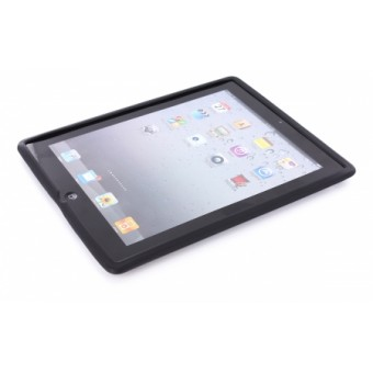 Mobiparts Siliconen Case Apple iPad 3 Black