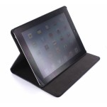 Case met Stand Apple iPad 3 Leather/Canvas Blue